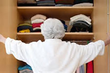 A little help getting dressed can set a senior's day in a happy direction!
